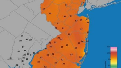 Here are your noon time temperatures across the Garden State. Stay hydrated!