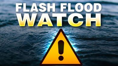 A Flash Flood Watch has been issued for our area Showers producing moderate to…