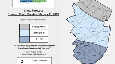 Accumulations Expected Through Monday Afternoon Light snow is expected to overspread the area from…