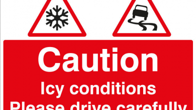 Be careful out there! Today's snow-melt and temperatures dropping may lead to icy conditions…