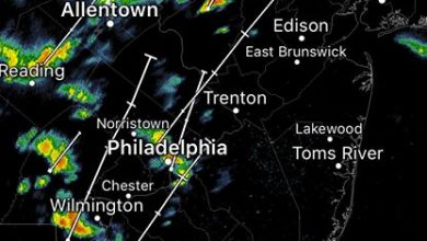 Scattered showers and thunderstorms are moving through the tristate area this morning as an…
