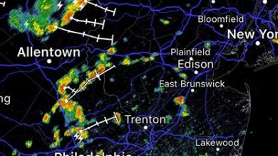 Scattered to widespread showers and storms have developed across the tristate area today. Localized…