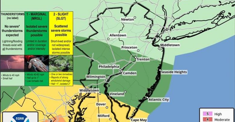 7:00 am Severe Weather Update While thunderstorms remain possible later this afternoon and evening,…